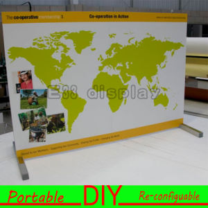 Custom DIY Portable Modular Trade Show Exhibition Large Banner Stand pictures & photos