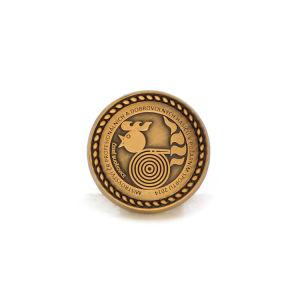High Quality Wholesale Antique Brass Souvenir Coin Badge Collection Design pictures & photos