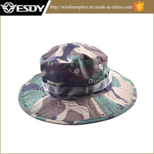 Fashion Camouflage Military Hat with Wide Brim pictures & photos