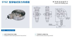 China Factory Flange Tension Sensor 200kg Stsz-200 pictures & photos