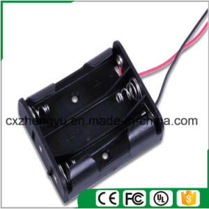 3AA Battery Holder with Red/Black Wire Leads