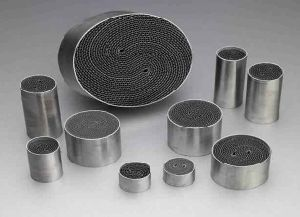 High Flow Car Catalytic Converter Metallic Metal Honeycomb Catalyst Substrate pictures & photos