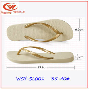 2017 New Women Fashion Slippers for Outdoor Beach pictures & photos