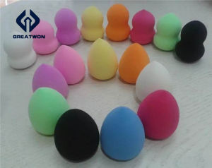Beautiful Water Droplets Non-Latex Makeup Sponge/Powder Puff pictures & photos