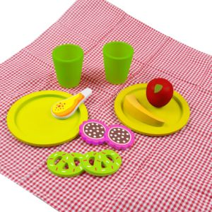 12PCS Wooden Picnic Set Toy for Kids and Children pictures & photos