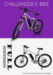White Color Lithium Battery Power Electric Bike pictures & photos