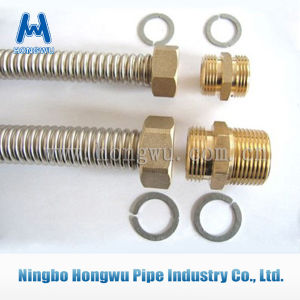 Straight Coupler Brass Nipple Pipe Fitting pictures & photos
