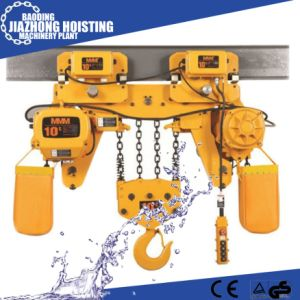 Huaxin 1ton 4meter Electric Construction Hoist for Crane pictures & photos