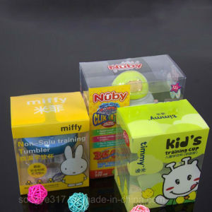 Pet Clear Milky Bottle Blister Box pictures & photos