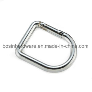 Decorative Metal Spring Gate D Ring pictures & photos