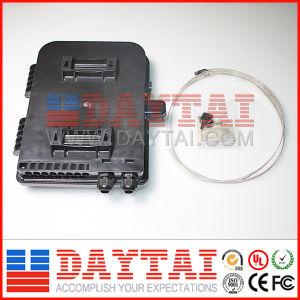 Black Color Outdoor 4-48 Core Fiber Optic Distribution Box pictures & photos