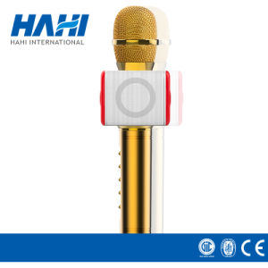 High Quality Wireless Bluetooth Karaoke Condenser USB Microphone pictures & photos