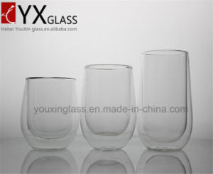 300ml Double Wall Glass Tea Cup /Double Wall Glass Espresso Glass Coffee Cup /Double Layer Glass pictures & photos
