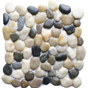 Factory Natural Pebble Stone Tile pictures & photos