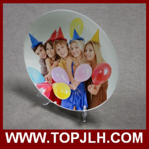 Full-Size Photo Printing 3D Sublimation Ceramic Plate pictures & photos