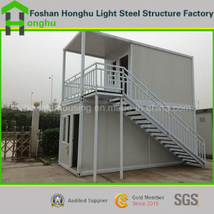 20FT Double Storey Relocated Prefabricated Home Container House pictures & photos