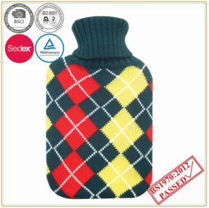 Hot Water Bottle with Good Quality Knitted Cover pictures & photos