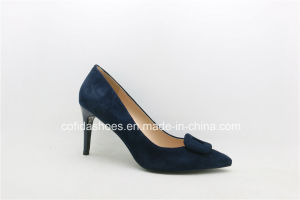2017ss Newest Sexy Sheepskin High Heel Leather Lady Shoe pictures & photos
