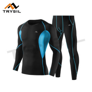 Men′s Tight Sport Suit Wear with Breathable