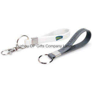 Custom Short Silicon Strap Key Chain Accessory pictures & photos