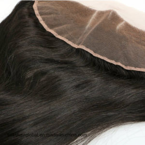 Bliss Hair 13X4 Lace Frontal Three/Free/Middle Part Cheap Swiss Lace Frontal Straight Indian Virgin Human Hair Frontal Pieces pictures & photos