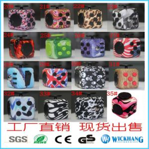 Magic Fidget Cube Anxiety Stress Relief Focus 6-Side Gift pictures & photos