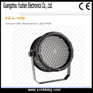 DMX512 LED Stage Lighting 72pcsx3w RGBW Waterproof LED PAR Light pictures & photos