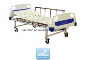 Medical Manual Semi-Flower Bed for Hospital pictures & photos