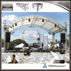 Aluminum Curve Roof Trussing Stage Lighting Truss Structure pictures & photos