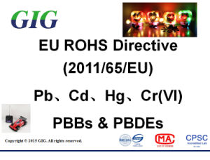 2011/65/EU RoHS Testing Service in China pictures & photos