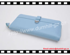 PU Leather RFID Blocking Purse pictures & photos