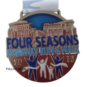Award Medal with Four Seasons Logo