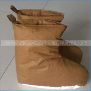 Household Indoor Comfortable Shoes Warm Winter Down Shoes pictures & photos