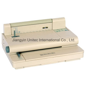 Electric Hot Sell Ing Velo Strip Book Binding Machine Yl-30 pictures & photos