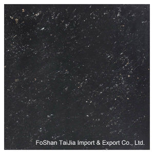 Building Material Black Galaxy Polished Porcelain Floor Tile pictures & photos