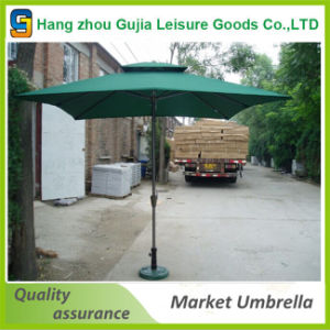 Waterproof Convenient Easy up Advertising Market Umbrella