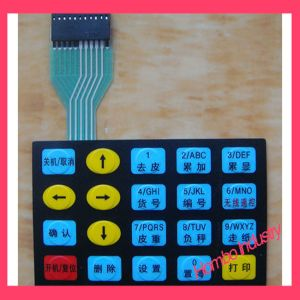 Buttons Embossing Membrane Keypad Control Keypad pictures & photos
