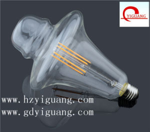 2017 Hot DIY Shape Factory Directive Sale LED Filament Bulb