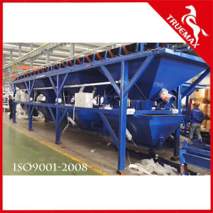 High Quality Production Capacity Belt Type Stationary Concrete Plant 60m3 pictures & photos