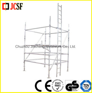 Scaffold Diagonal Brace/Bay Brace/Clamp Brace in Cuplock System pictures & photos