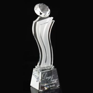 Customize Clear Laser Engraved Acrylic Trophy Event Award for  Chess Winner pictures & photos