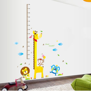 Unisex Kids Growth Height Measuring Cartoon Attractive Chart Decal Wall Sticker pictures & photos