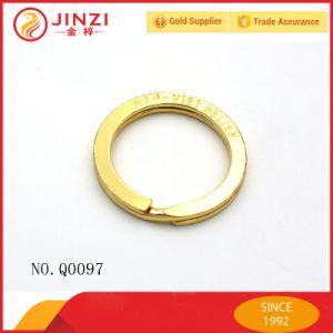 Factory Custom Logo Fashion Split Key Ring pictures & photos