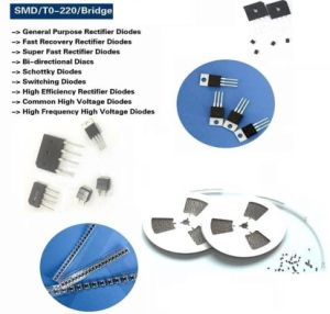 SMD Fast Recovery Rectifier Diode RS1j/RM/RS2j/RS2k/RS2m/RS3g/RS3j/RS3k/RS3m
