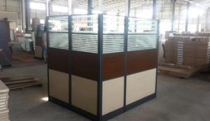 High Glass Wall Custom Made Modern Workstation Cubicle pictures & photos