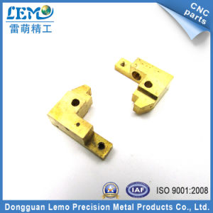 Custom Non-Standard Machining Brass Parts with Power Coating (LM-254M) pictures & photos