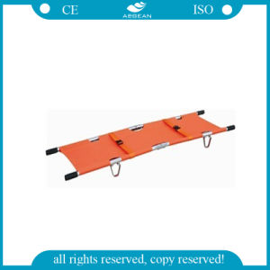 AG-2g2 ISO Ce Approved Hospital Furniture Folding Ambulance Stretcher pictures & photos