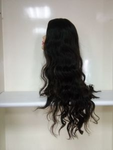 26 Inch Style1 Virgin Mongolian Hair Body Wave Jewish Wig pictures & photos