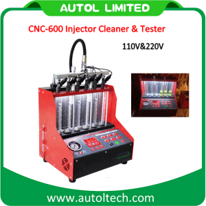 2016 Injector Cleaner & Tester CNC600 to Test and Clean Injectors on Gasoline Cars Ultrasonic Cleaning pictures & photos