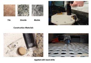 Dry Stone Diamond Drill Bit pictures & photos